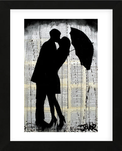 Rainy Day Romantics (Framed) -  Loui Jover - McGaw Graphics