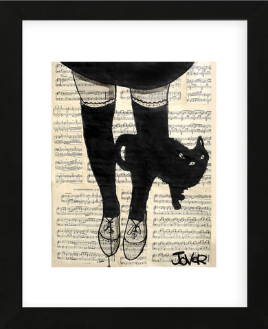 This be Cat (Framed) -  Loui Jover - McGaw Graphics