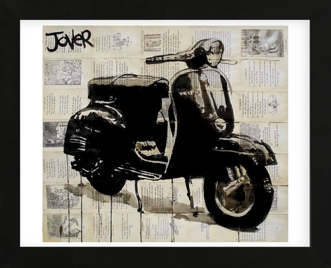 Scooter (Framed) -  Loui Jover - McGaw Graphics