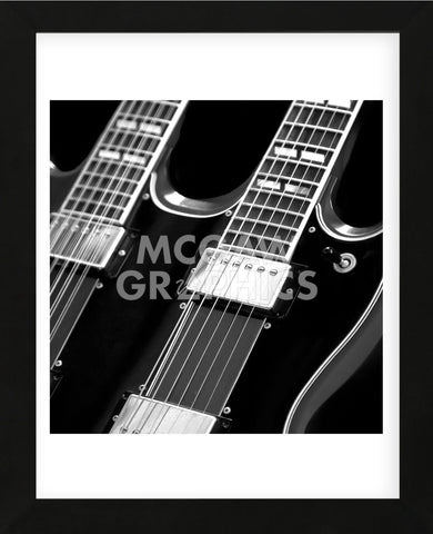 Classic Guitar Detail I (Framed) -  Richard James - McGaw Graphics