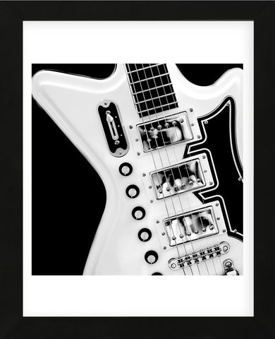 Classic Guitar Detail II (Framed) -  Richard James - McGaw Graphics