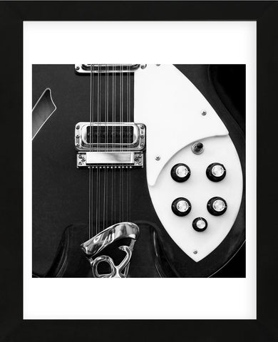 Classic Guitar Detail IV (Framed) -  Richard James - McGaw Graphics