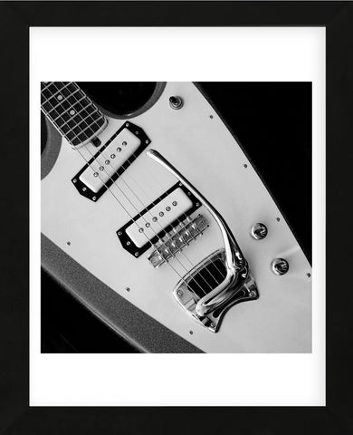Classic Guitar Detail VI (Framed) -  Richard James - McGaw Graphics