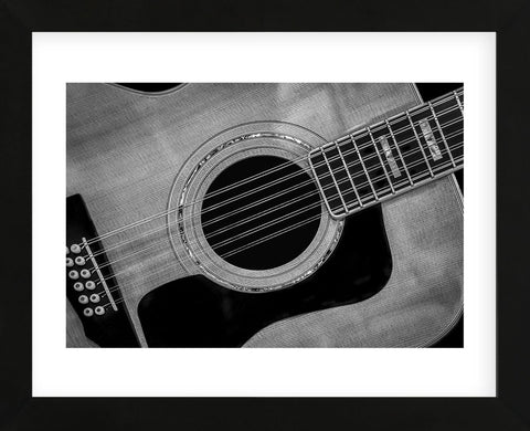 Classic Guitar Detail IX (Framed) -  Richard James - McGaw Graphics