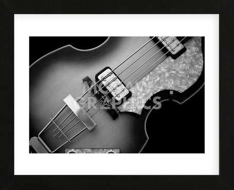 Classic Guitar Detail X (Framed) -  Richard James - McGaw Graphics
