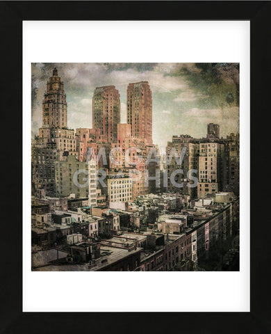 West Side Life (Framed) -  Richard James - McGaw Graphics