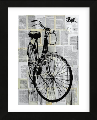 Bike (Framed) -  Loui Jover - McGaw Graphics
