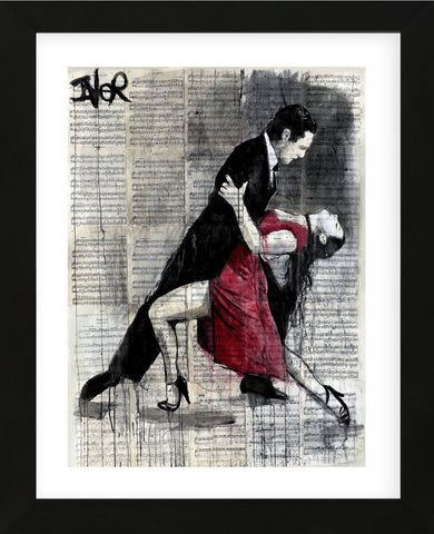 Midnight Tango (Framed) -  Loui Jover - McGaw Graphics