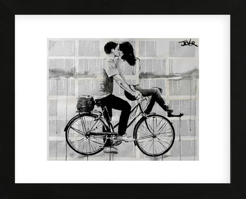 Love Ride (Framed) -  Loui Jover - McGaw Graphics