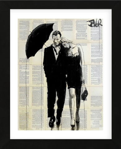 Each Other (Framed) -  Loui Jover - McGaw Graphics