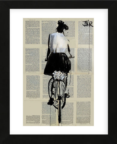Sunday Ride (Framed) -  Loui Jover - McGaw Graphics