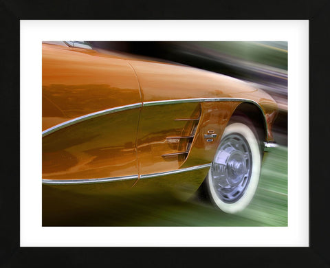 Classic Orange (Framed) -  Richard James - McGaw Graphics