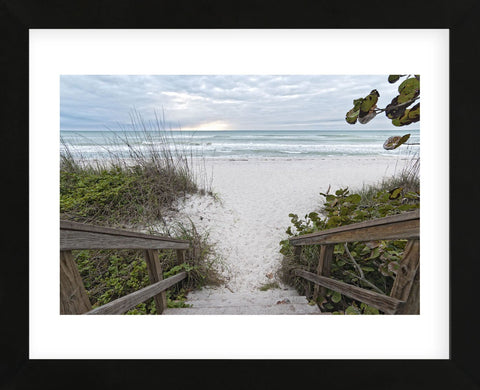 Let's Hit the Waves! (Framed) -  Mary Lou Johnson - McGaw Graphics