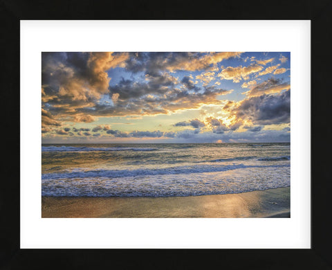 Last Light (Framed) -  Mary Lou Johnson - McGaw Graphics