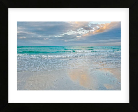 Sea Blues (Framed) -  Mary Lou Johnson - McGaw Graphics