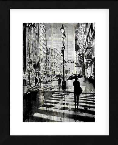 Manhattan Moment (Framed) -  Loui Jover - McGaw Graphics