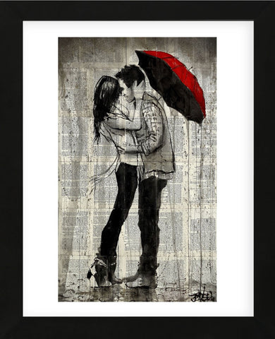 Rainfall and Kisses (Framed) -  Loui Jover - McGaw Graphics