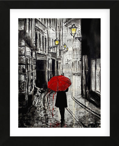 The Delightful Walk (Framed) -  Loui Jover - McGaw Graphics