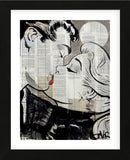 Pop Kiss (Framed) -  Loui Jover - McGaw Graphics