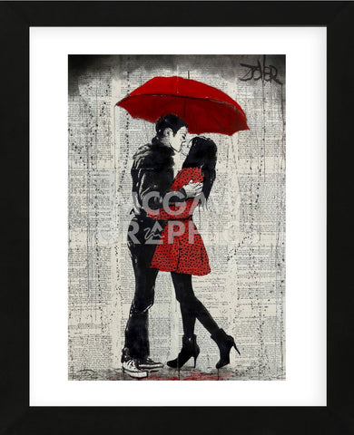 Rain Kisses (Framed) -  Loui Jover - McGaw Graphics