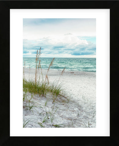 Beach Secrets (Framed) -  Mary Lou Johnson - McGaw Graphics