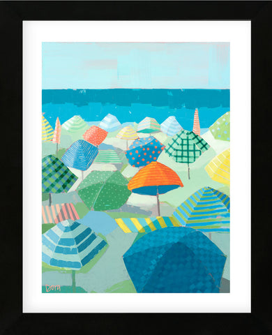Sea Breeze Social (Framed) -  Dora Knuteson - McGaw Graphics
