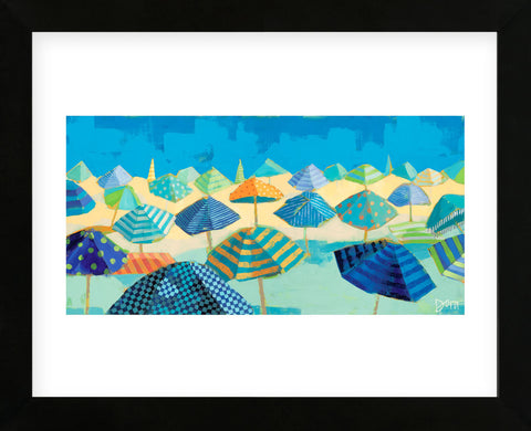 Beach Blues (Framed) -  Dora Knuteson - McGaw Graphics