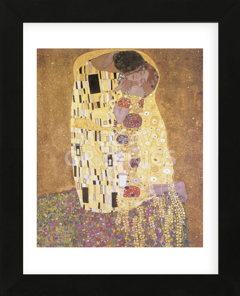 The Kiss (Framed) – McGaw Graphics