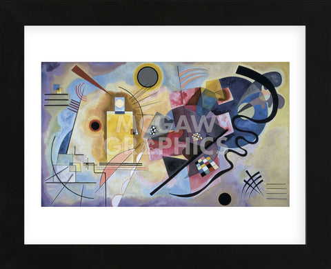Yellow, Red, Blue, 1925  (Framed) -  Wassily Kandinsky - McGaw Graphics