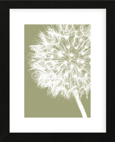 Dandelion Crop (khaki)  (Framed) -  Jenny Kraft - McGaw Graphics