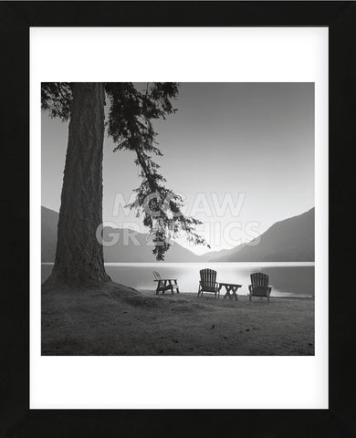 Crescent Lake I (Framed) -  Moises Levy - McGaw Graphics