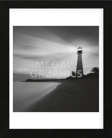 Faro BN (Framed) -  Moises Levy - McGaw Graphics