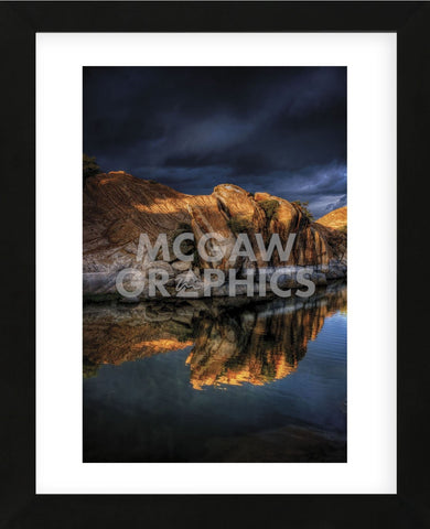 Top Light (Framed) -  Bob Larson - McGaw Graphics