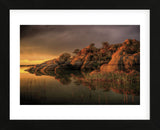 Willow Rock (Framed) -  Bob Larson - McGaw Graphics