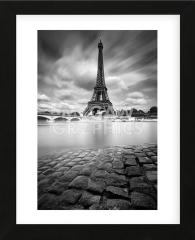 Eiffel Tower Study 1, 2011 (Framed) -  Moises Levy - McGaw Graphics