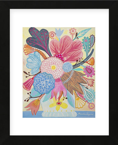 Flowers n. 1 (Framed) -  Mercedes Lagunas - McGaw Graphics