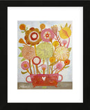 Flowers n. 6 (Framed) -  Mercedes Lagunas - McGaw Graphics