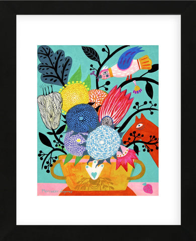 Flowers n. 8 (Framed) -  Mercedes Lagunas - McGaw Graphics
