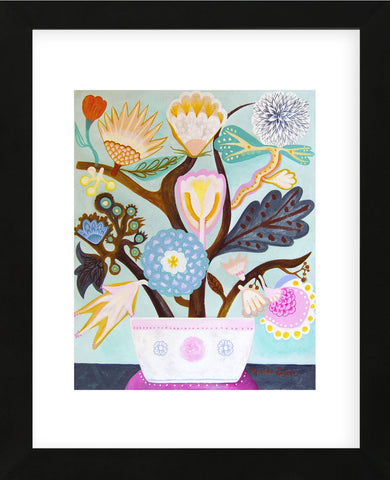 Flowers n. 9 (Framed) -  Mercedes Lagunas - McGaw Graphics