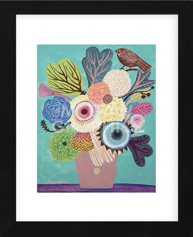 Flowers n. 10 (Framed) -  Mercedes Lagunas - McGaw Graphics