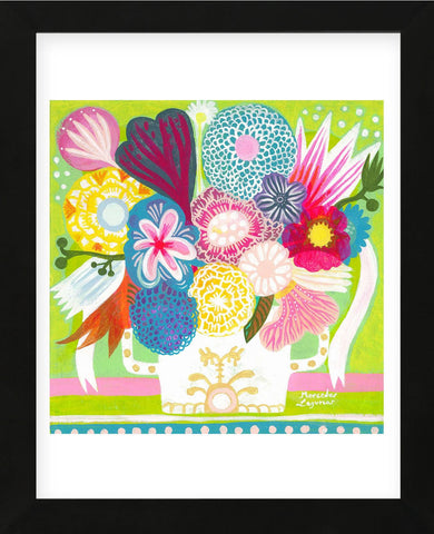 Flowers n. 15 (Framed) -  Mercedes Lagunas - McGaw Graphics