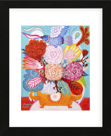 Flowers n. 18 (Framed) -  Mercedes Lagunas - McGaw Graphics