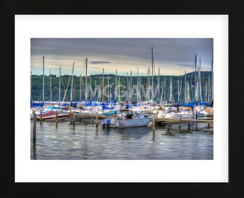 Harbor at Watkins Glen (Framed) -  Robert Lott - McGaw Graphics