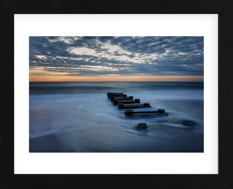 Outfall at Sunrise #4 (Framed) -  Robert Lott - McGaw Graphics