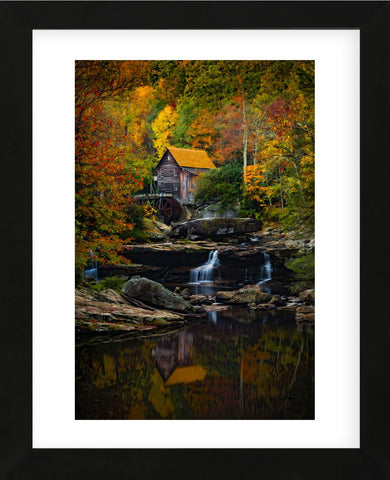 Glade Creek Mill (Framed) -  Robert Lott - McGaw Graphics