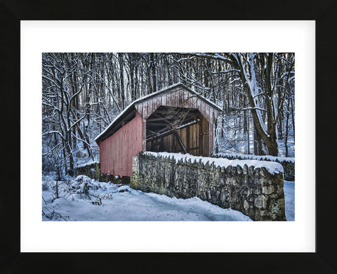 Laurels Bridge #2 (Framed) -  Robert Lott - McGaw Graphics