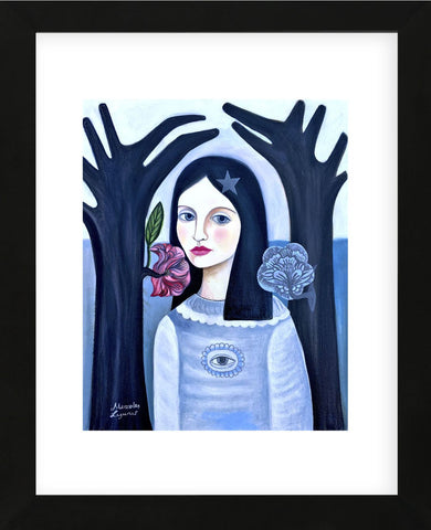 Doll in the Woods (Framed) -  Mercedes Lagunas - McGaw Graphics
