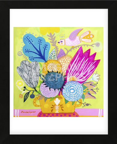Flowers of June (Framed) -  Mercedes Lagunas - McGaw Graphics