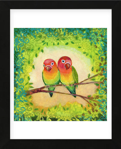 Love Birds (Framed) -  Jennifer Lommers - McGaw Graphics