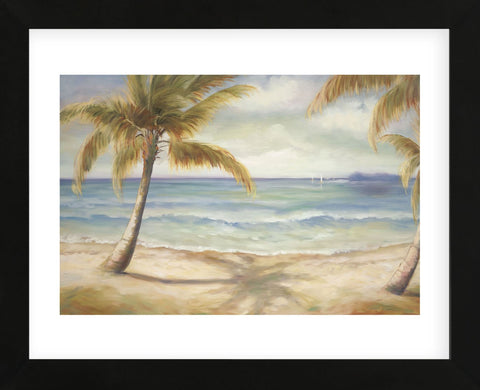 Shoreline Palms II  (Framed) -  Marc Lucien - McGaw Graphics